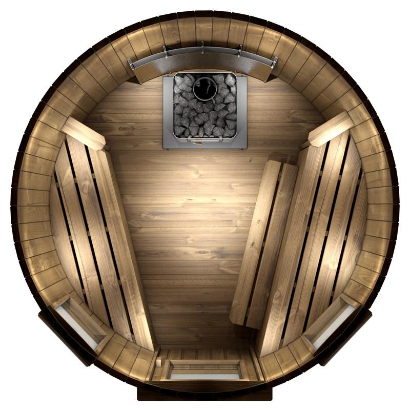 sauna 180 cm po le bois plaque de protection spadealers. Black Bedroom Furniture Sets. Home Design Ideas